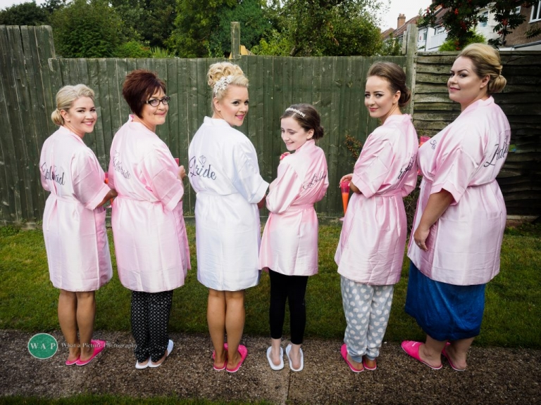 The bridal party - Sheldon Wedding with What a Picture Photography