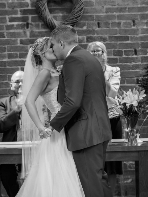 First Kiss by What a Picture photography
