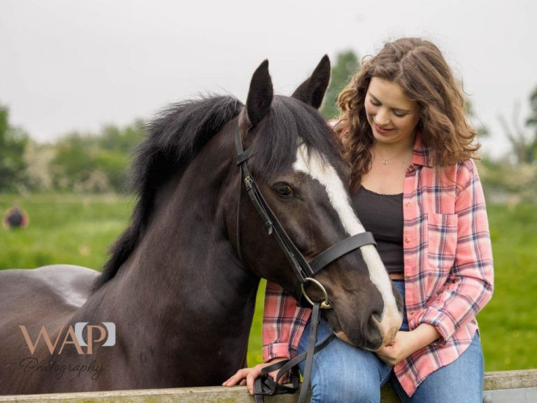 Imogen and Nia - Equine portraiture by What a Picture Photography