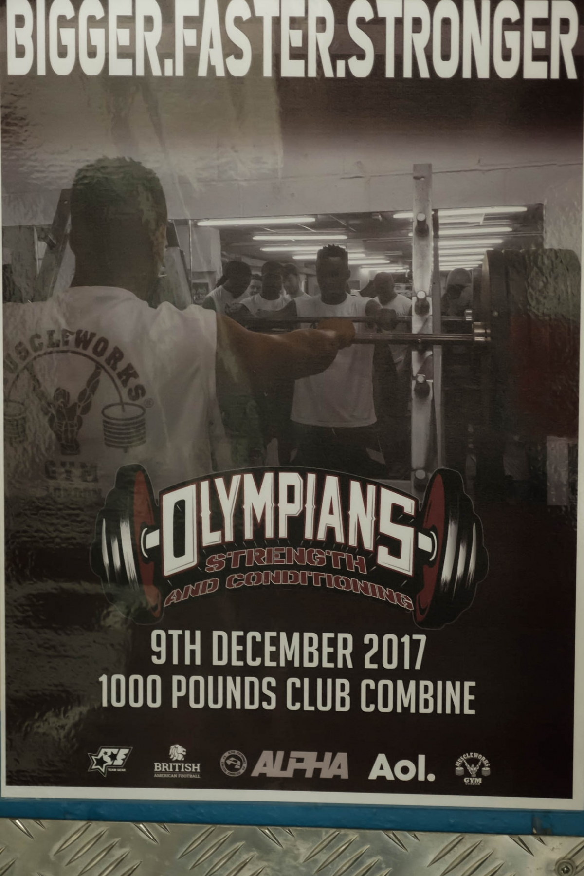 Olympians Combine - event poster