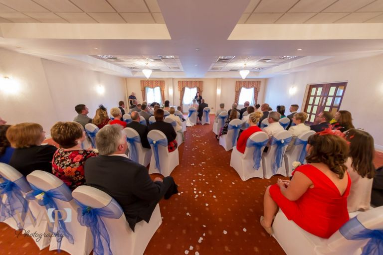 Ceremony room - Arden Hotel, Solihull - by What a Picture Photography