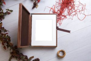 Wooden print box holding 30 mounted 7 x 5 prints - What a Picture Photogrphy equine collections