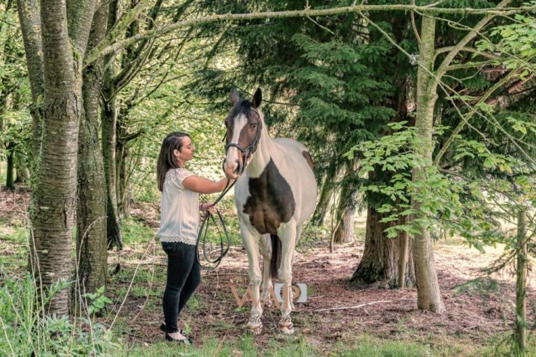 Louise and Dolly in the woods by What a Picture Photography